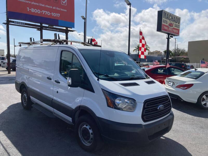 2016 Ford Transit Cargo for sale at MACHADO AUTO SALES in Miami FL