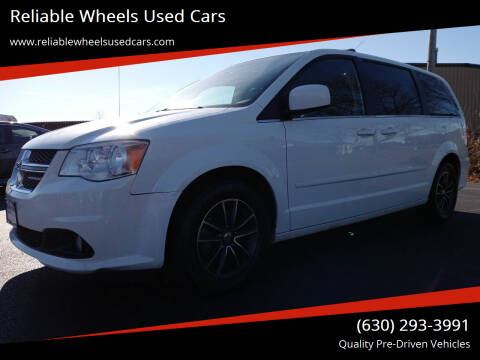 2017 Dodge Grand Caravan for sale at Reliable Wheels Used Cars in West Chicago IL