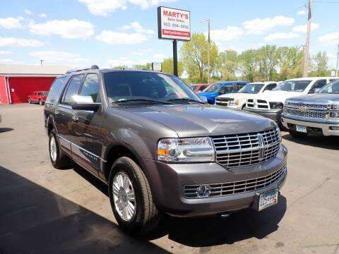 2014 Lincoln Navigator for sale at Marty's Auto Sales in Savage MN