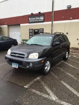 2006 Hyundai Santa Fe for sale at Specialty Auto Wholesalers Inc in Eden Prairie MN