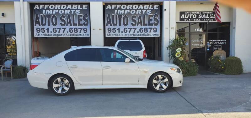 2006 BMW 5 Series for sale at Affordable Imports Auto Sales in Murrieta CA