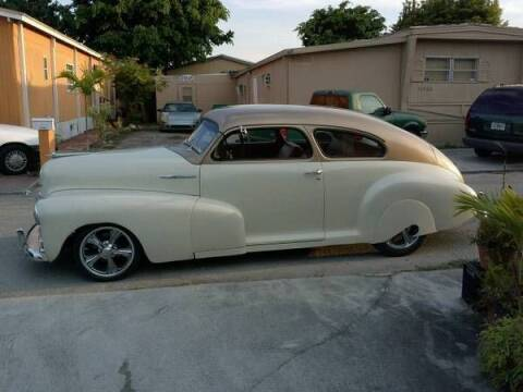 1947 Chevrolet Fleetline for sale at Haggle Me Classics in Hobart IN