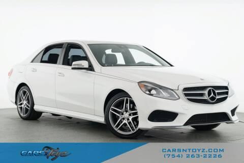2016 Mercedes-Benz E-Class for sale at JumboAutoGroup.com - Carsntoyz.com in Hollywood FL