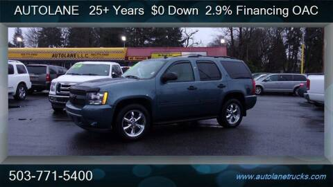 2009 Chevrolet Tahoe for sale at Auto Lane in Portland OR