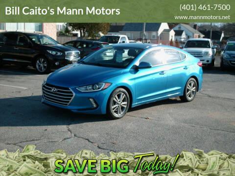 2017 Hyundai Elantra for sale at Bill Caito's Mann Motors in Warwick RI