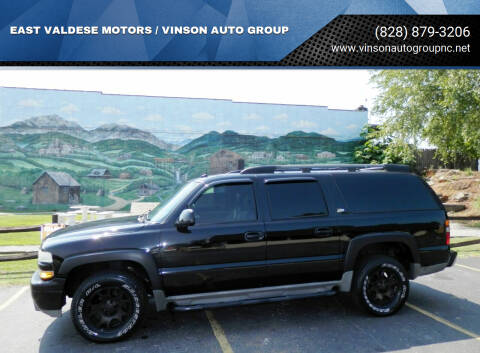 2004 Chevrolet Suburban for sale at EAST VALDESE MOTORS / VINSON AUTO GROUP in Valdese NC