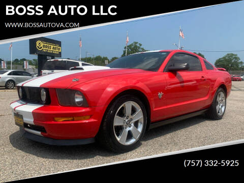 2009 Ford Mustang for sale at BOSS AUTO LLC in Norfolk VA