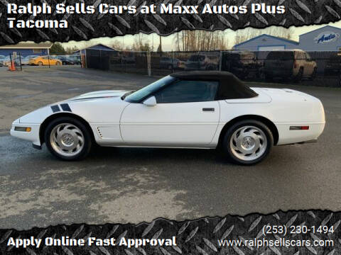 1996 Chevrolet Corvette for sale at Ralph Sells Cars at Maxx Autos Plus Tacoma in Tacoma WA