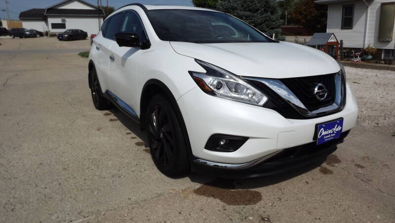 2017 Nissan Murano for sale at Choice Auto in Carroll IA