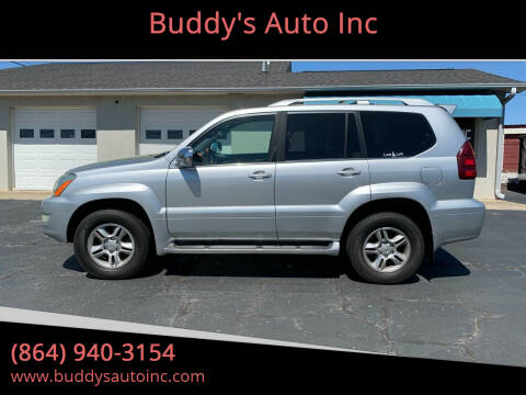 2006 Lexus GX 470 for sale at Buddy's Auto Inc in Pendleton, SC