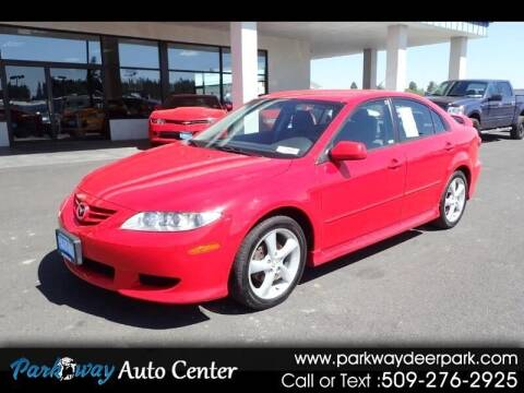 2005 Mazda MAZDA6 for sale at PARKWAY AUTO CENTER AND RV in Deer Park WA
