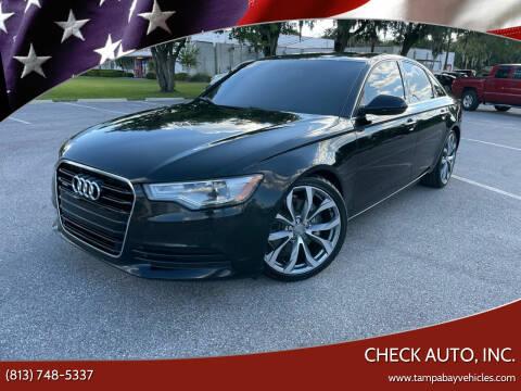 2015 Audi A6 for sale at CHECK AUTO, INC. in Tampa FL