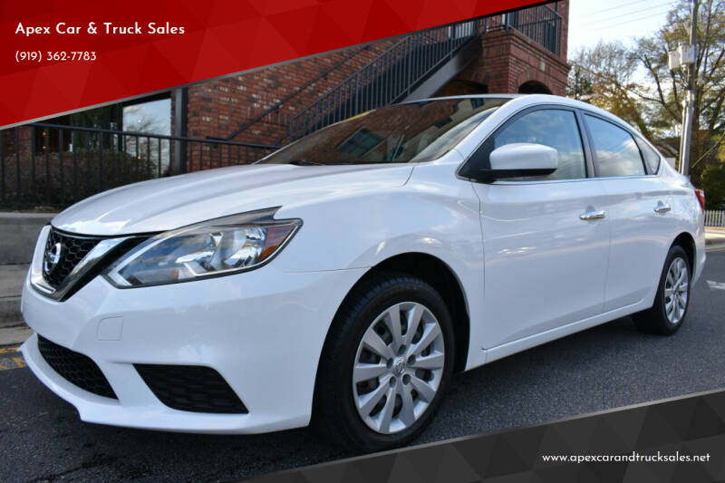 2017 Nissan Sentra for sale at Apex Car & Truck Sales in Apex NC
