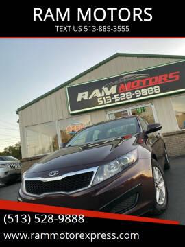 2011 Kia Optima for sale at RAM MOTORS in Cincinnati OH