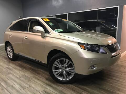 2012 Lexus RX 450h for sale at Golden State Auto Inc. in Rancho Cordova CA