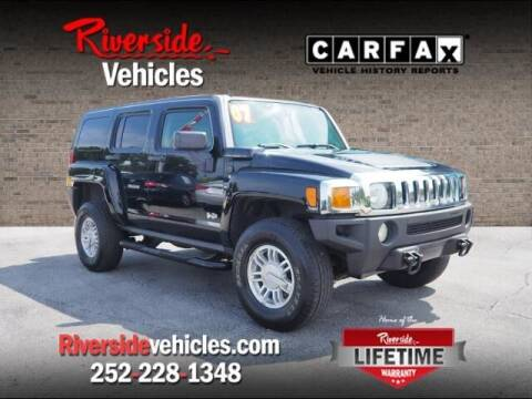 2007 HUMMER H3 for sale at Riverside Mitsubishi(New Bern Auto Mart) in New Bern NC