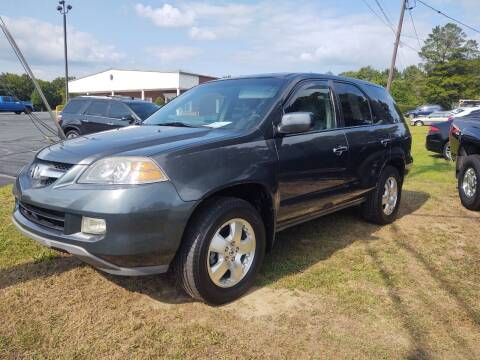 2005 Acura MDX for sale at Ray Moore Auto Sales in Graham NC