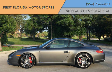 2007 Porsche 911 for sale at FIRST FLORIDA MOTOR SPORTS in Pompano Beach FL