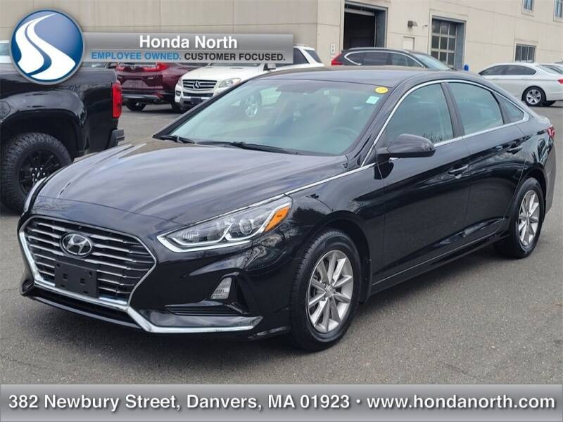 2018 Hyundai Sonata for sale at 1 North Preowned in Danvers MA