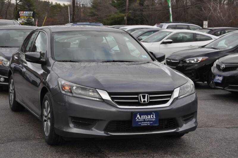 2014 Honda Accord for sale at Amati Auto Group in Hooksett NH