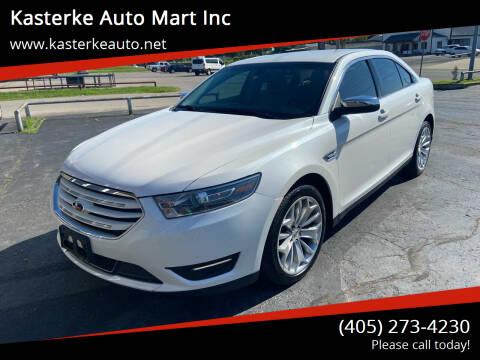 2015 Ford Taurus for sale at Kasterke Auto Mart Inc in Shawnee OK