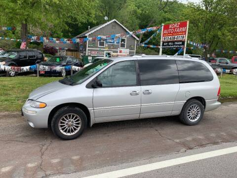 2000 Chrysler Town and Country for sale at Korz Auto Farm in Kansas City KS