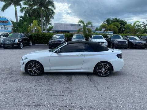 2018 BMW 2 Series for sale at Classic Cars of Palm Beach in Jupiter FL