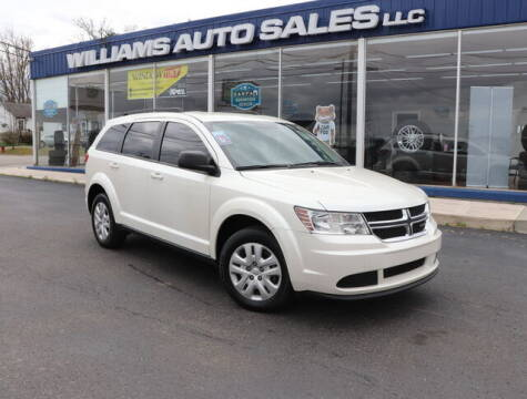 2018 Dodge Journey for sale at Williams Auto Sales, LLC in Cookeville TN