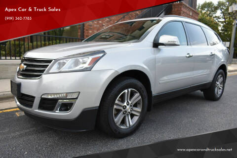 2016 Chevrolet Traverse for sale at Apex Car & Truck Sales in Apex NC
