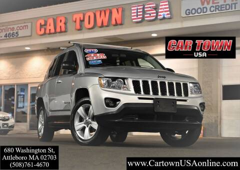 2012 Jeep Compass for sale at Car Town USA in Attleboro MA