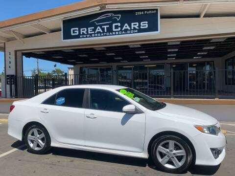 2012 Toyota Camry for sale at Great Cars in Sacramento CA