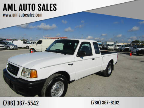 2003 Ford Ranger for sale at AML AUTO SALES - Pick-up Trucks in Opa-Locka FL
