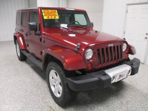 2010 Jeep Wrangler Unlimited for sale at LaFleur Auto Sales in North Sioux City SD