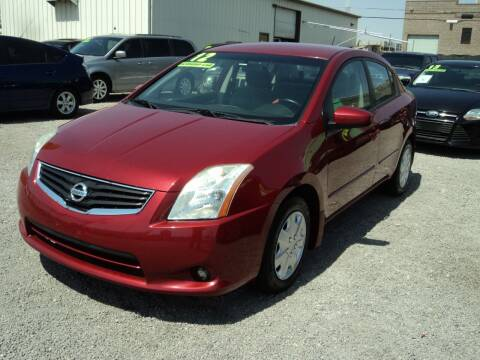 2012 Nissan Sentra for sale at DESERT AUTO TRADER in Las Vegas NV