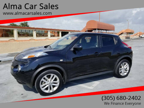 2011 Nissan JUKE for sale at Alma Car Sales in Miami FL