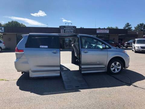 2011 Toyota Sienna for sale at LaBelle Sales & Service in Bridgewater MA