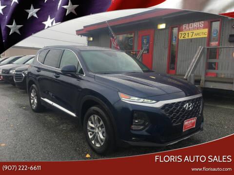 2020 Hyundai Santa Fe for sale at FLORIS AUTO SALES in Anchorage AK