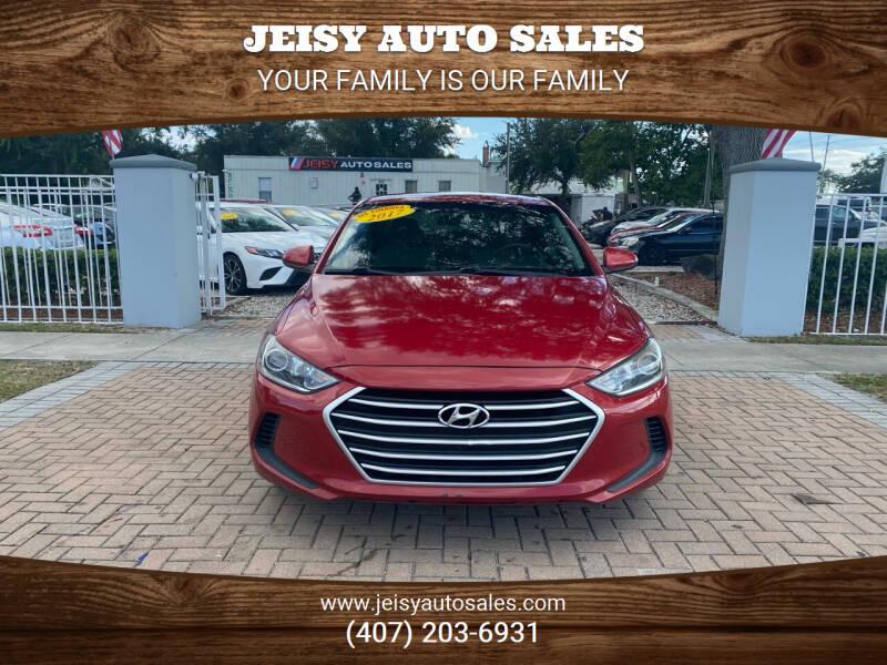 2017 Hyundai Elantra for sale at JEISY AUTO SALES in Orlando FL