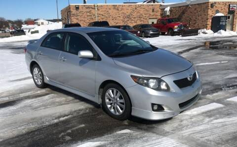 2009 Toyota Corolla for sale at Carney Auto Sales in Austin MN