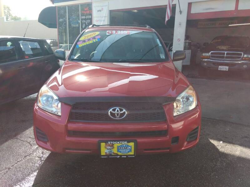 2009 Toyota RAV4 for sale at Auto City in Redwood City CA