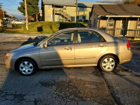2007 Kia Spectra for sale at Knoxville Wholesale in Knoxville TN