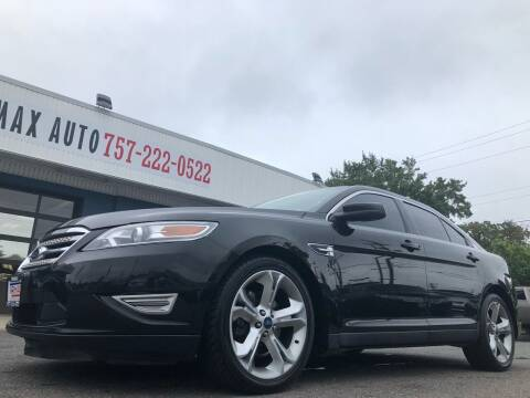 2010 Ford Taurus for sale at Trimax Auto Group in Norfolk VA