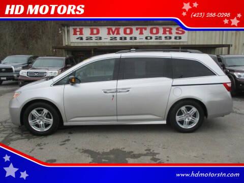 2011 Honda Odyssey for sale at HD MOTORS in Kingsport TN