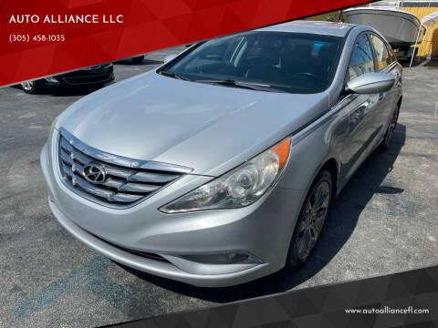 2011 Hyundai Sonata for sale at AUTO ALLIANCE LLC in Miami FL