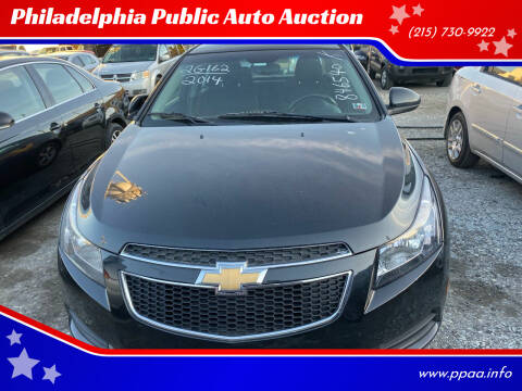 2014 Chevrolet Cruze for sale at Philadelphia Public Auto Auction in Philadelphia PA