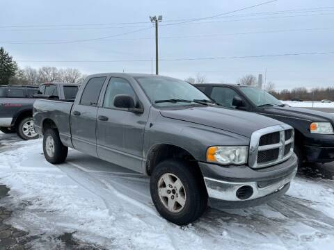 2004 Dodge Ram Pickup 1500 for sale at Pine Auto Sales in Paw Paw MI