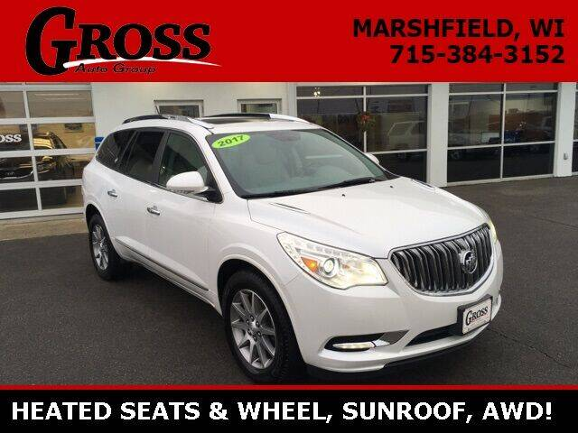 2017 Buick Enclave for sale at Gross Motors of Marshfield in Marshfield WI