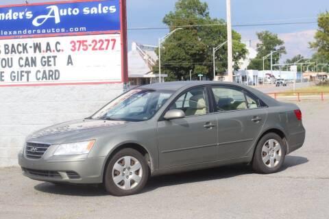 2010 Hyundai Sonata for sale at Alexander's Auto Sales in North Little Rock AR