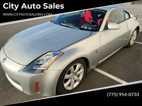2003 Nissan 350Z for sale at City Auto Sales in Sparks NV