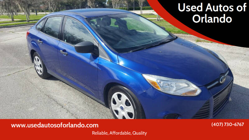 2012 Ford Focus for sale at Used Autos of Orlando in Orlando FL